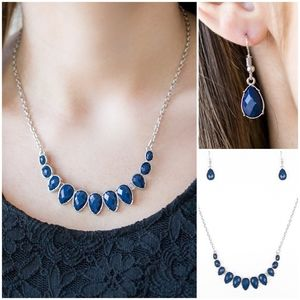 Papa Maui Majesty Blue Necklace Set